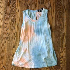 Women's Lulu's tie dye backless tank top. XS